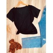 T-shirt Podrinha Black