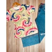 T-shirt Podrinha Tie Dye Circle