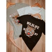 T-shirt Tigre Top