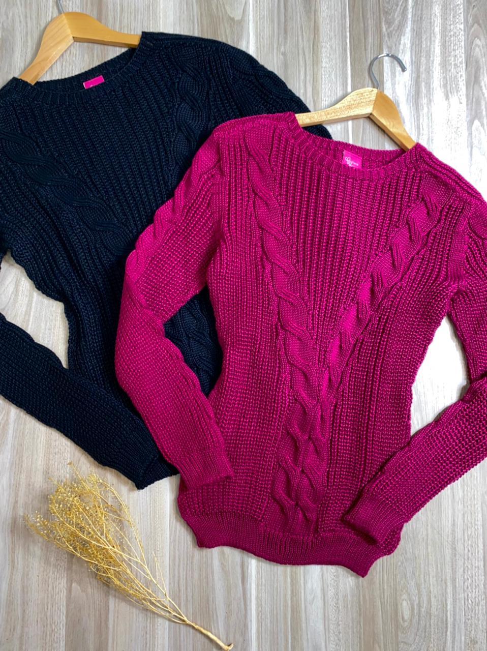 Blusa Tricot com detalhes Renata