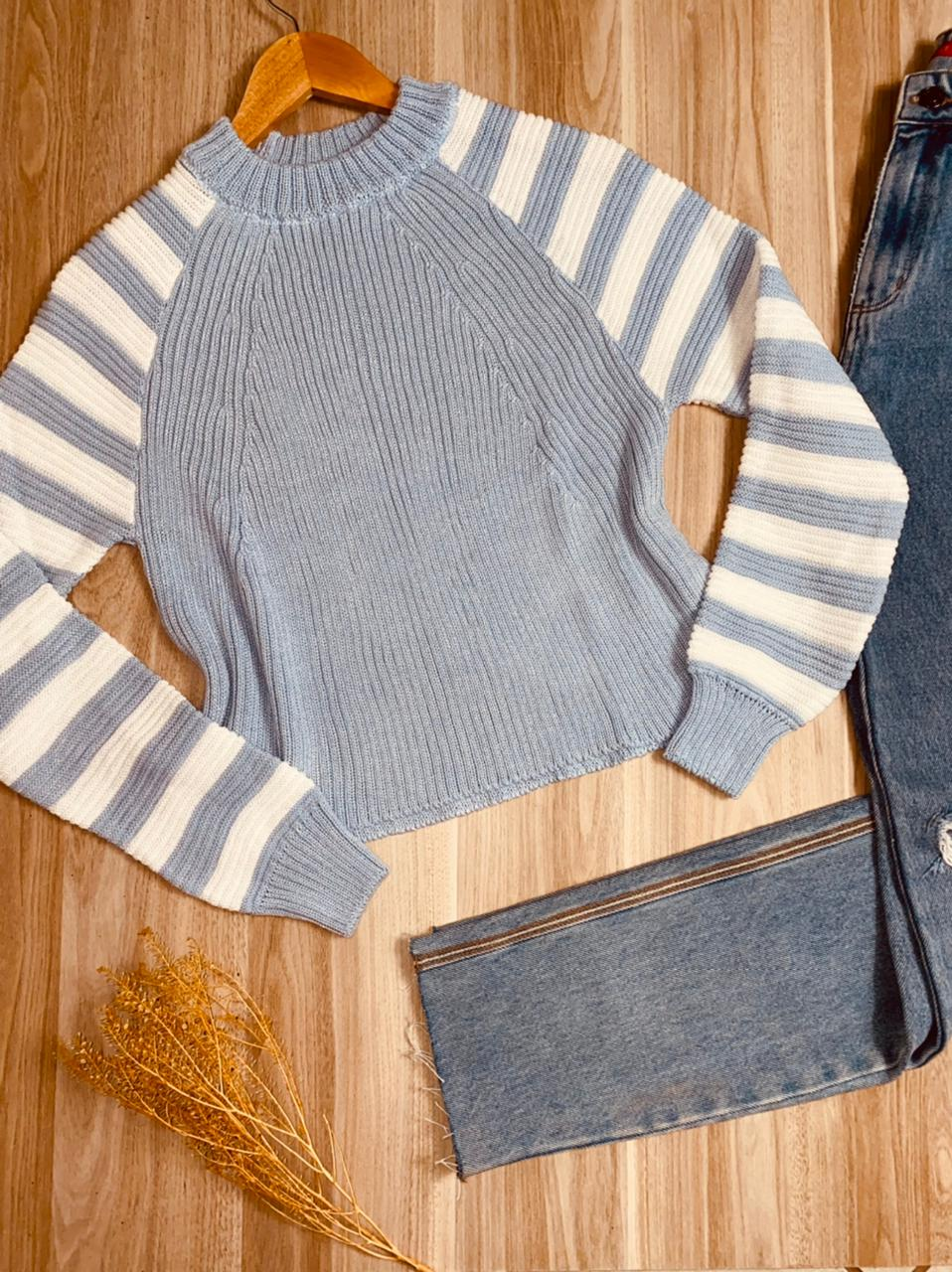 Blusa Tricot Cropped Amanda