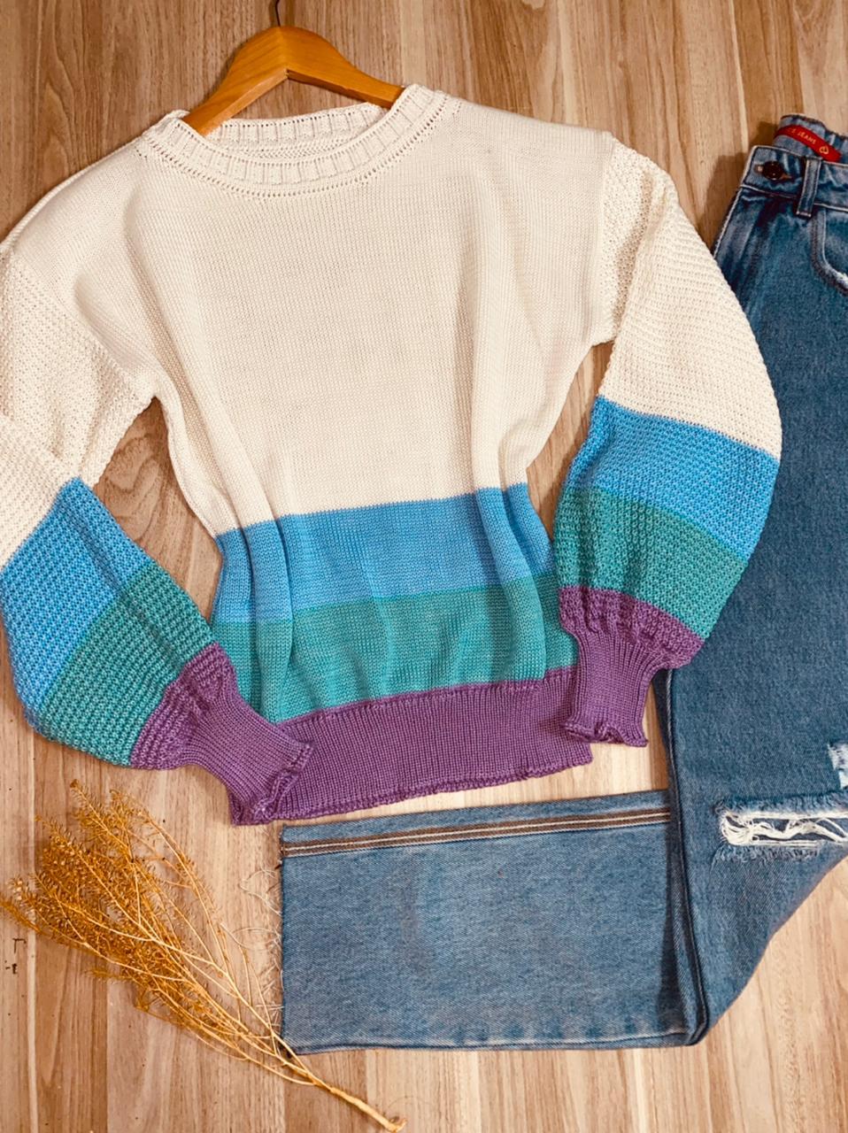 Blusa Tricot Listrada Amanda