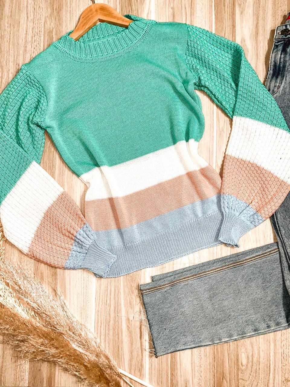 Blusa Tricot Listrada Luciana
