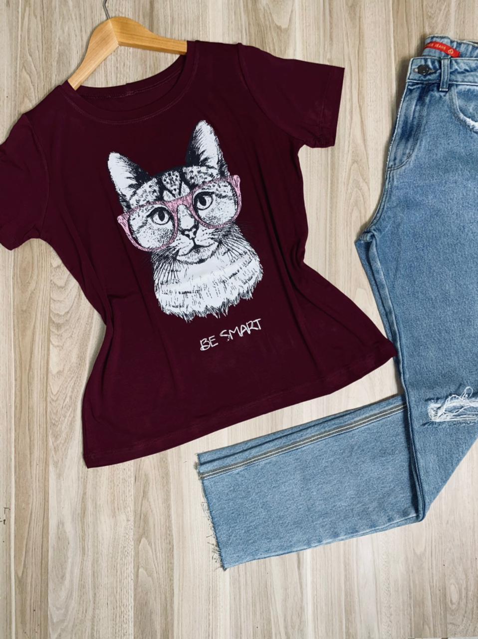 Camiseta Be Smart