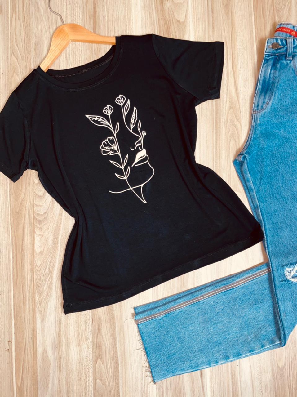Camiseta Floresça