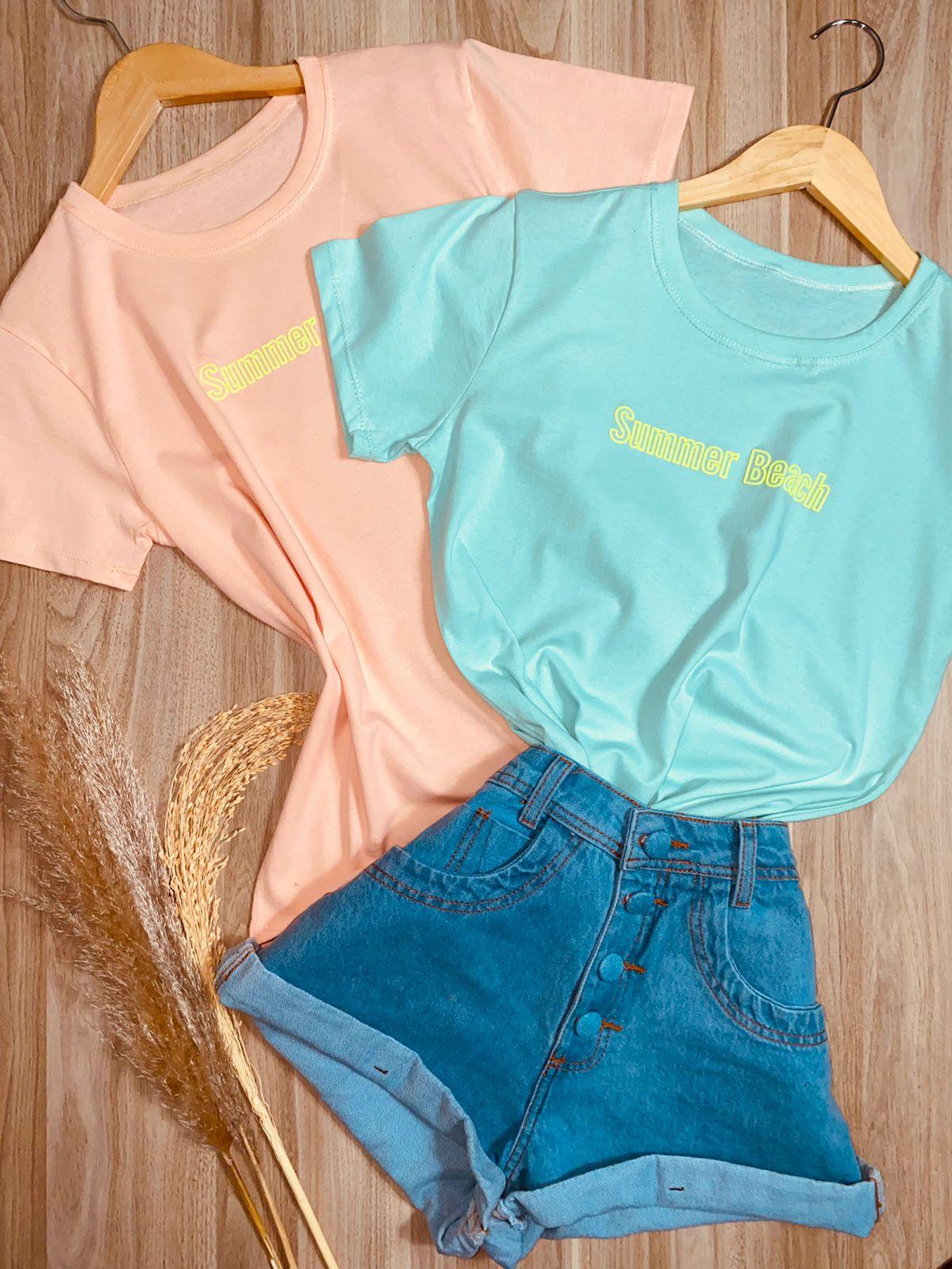 Camiseta Summer Beach