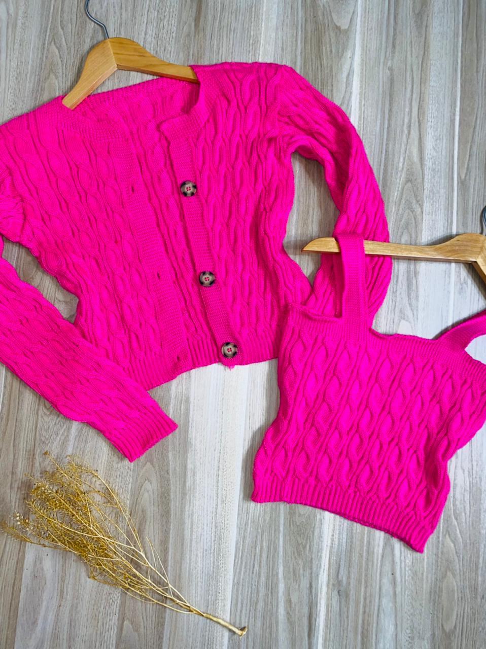 Conjunto Twin Set Lola Pink
