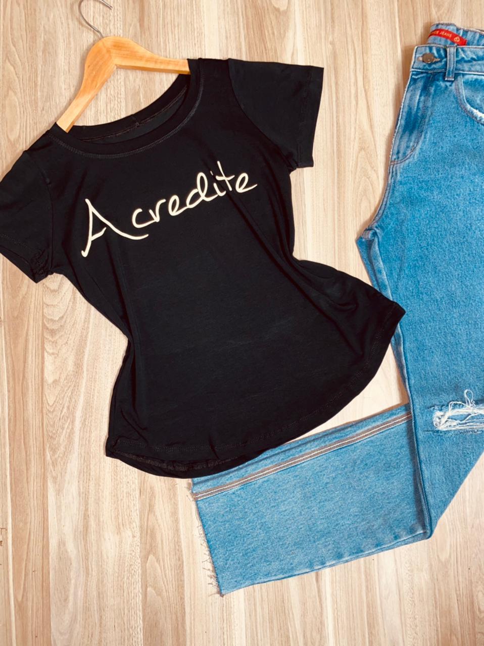 T-shirt Acredite Top