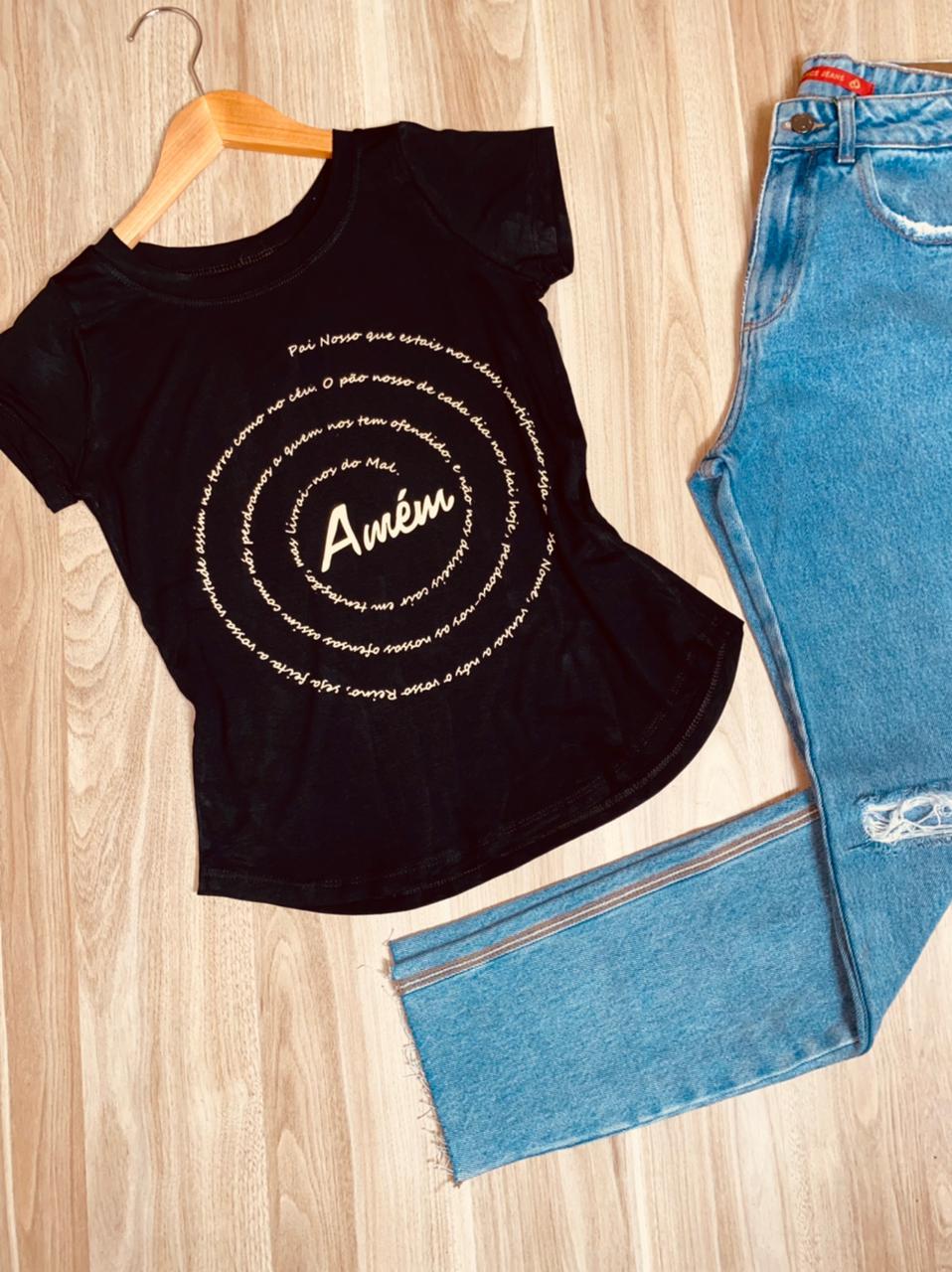 T-shirt Amém - Pai Nosso