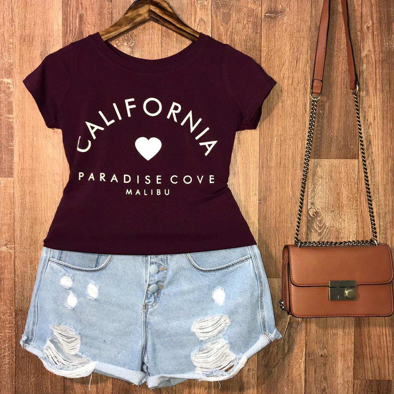 T-shirt California Paradise