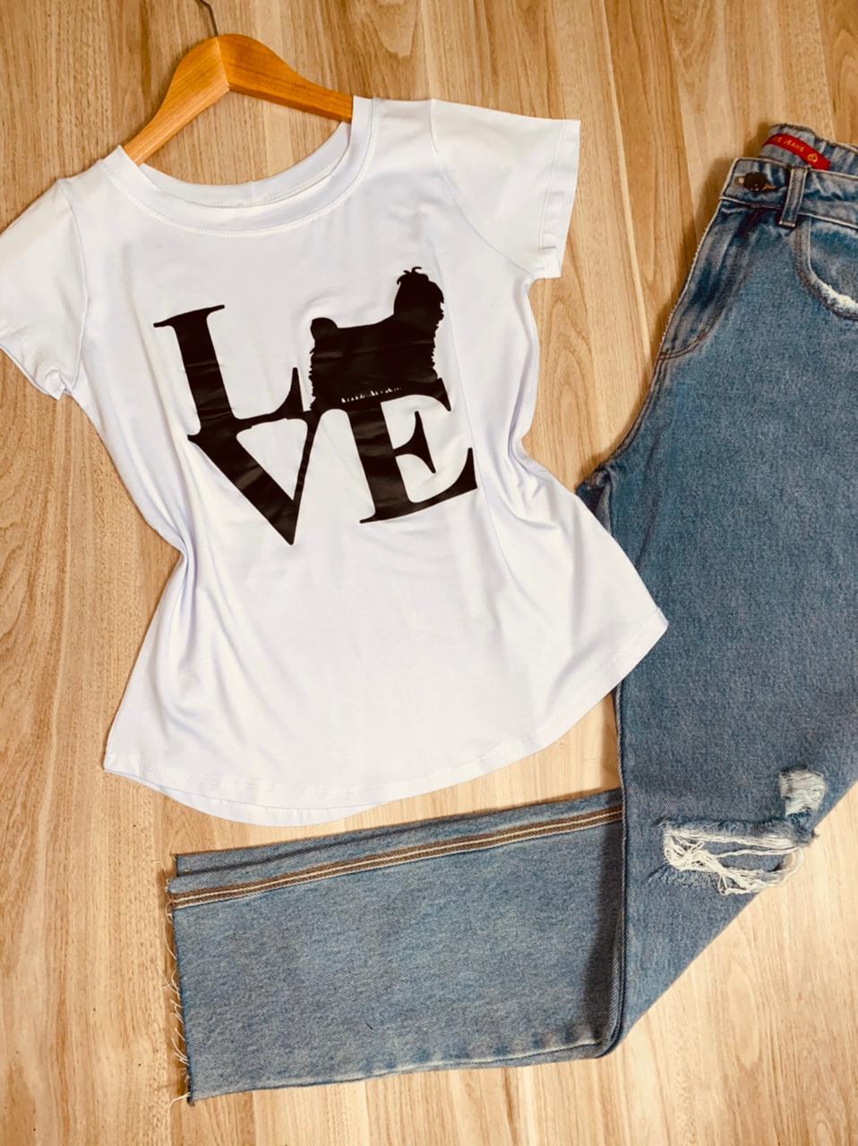 T-shirt Dog Love