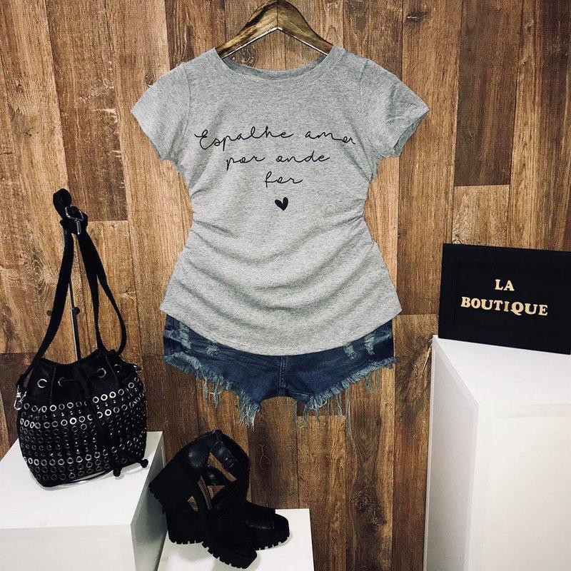 T-shirt Espalhe amor por onde for