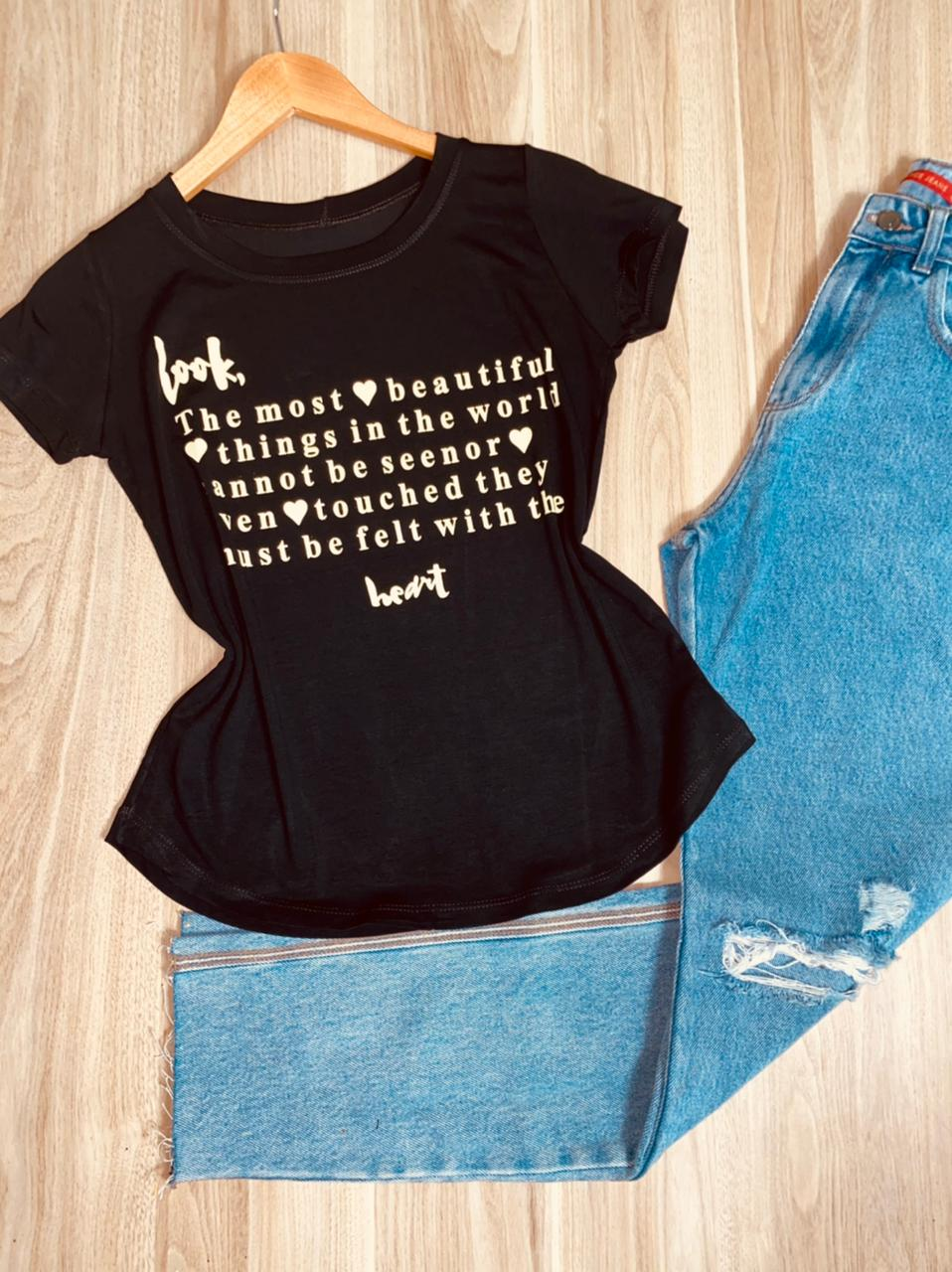 T-shirt Look ...