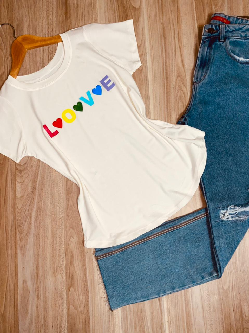T-shirt Love Collors