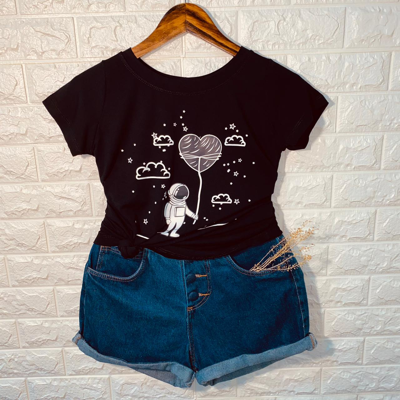T-shirt Love in Space