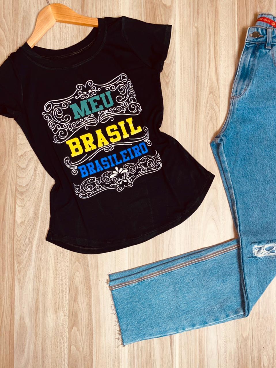 T-shirt Meu Brasil Brasileiro