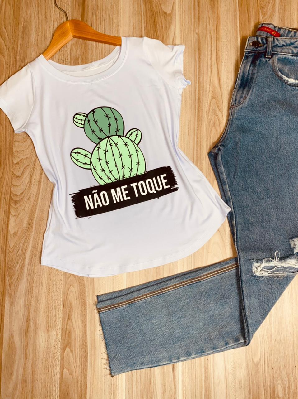 T-shirt Não Me Toque