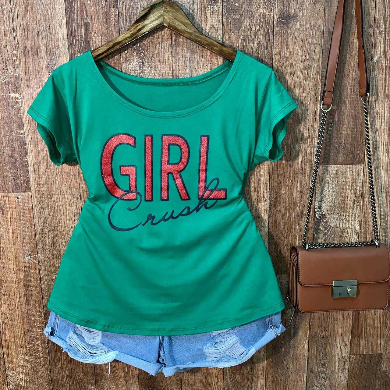 T-shirt Plus Size Girl Crush
