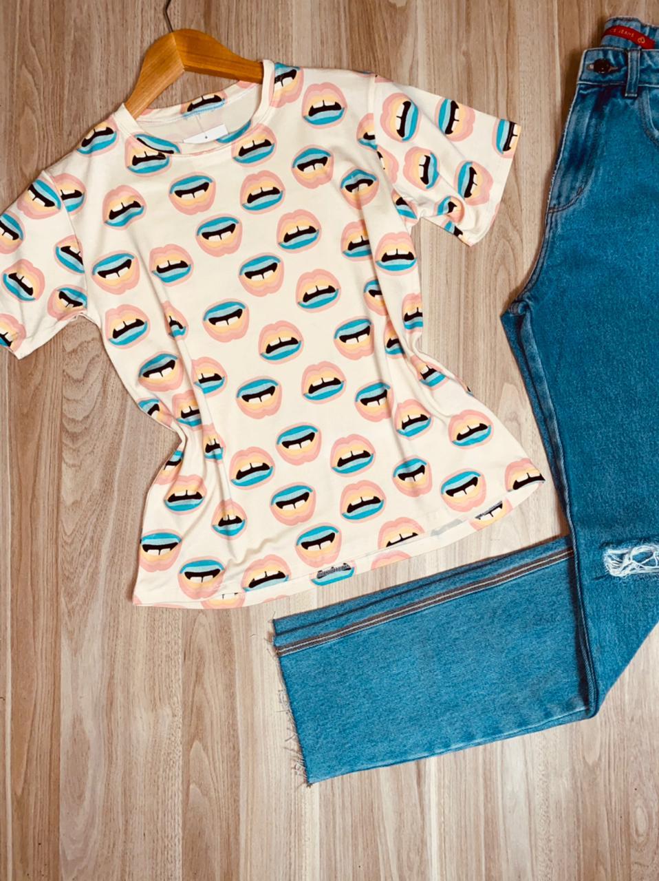 T-shirt Podrinha Bocas