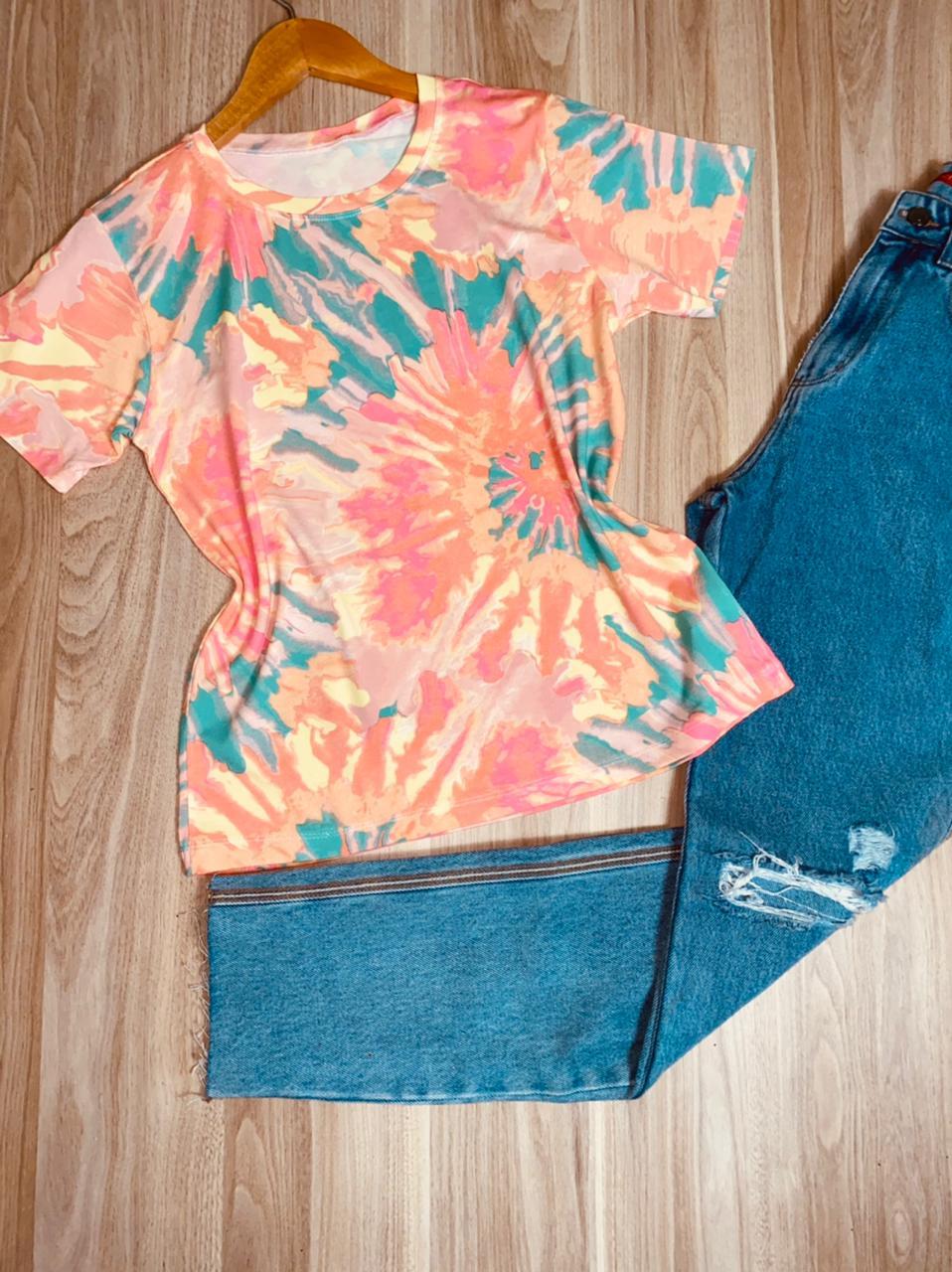 T-shirt Podrinha Tie Dye Top