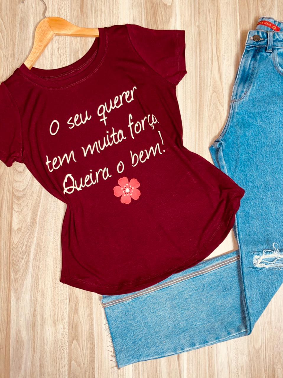 T-shirt Queira o Bem