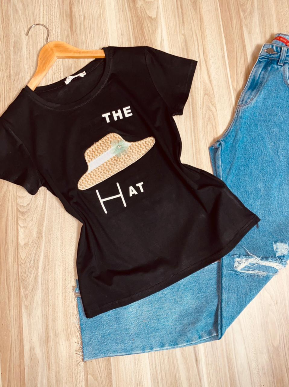T-shirt Top The Hat Black