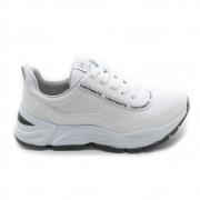 Tênis Branco Chunky Sneaker Via Marte Feminino Anabela