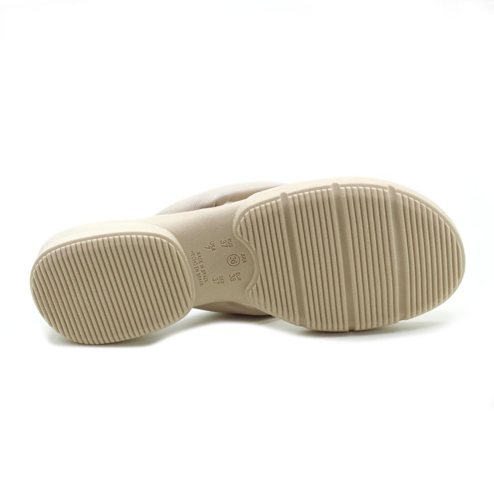 Chinelo Anabela de dedo Conforto Comfortflex 2181401