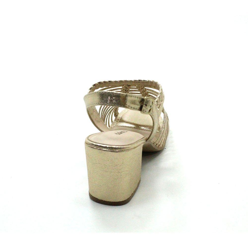 Sandália de Salto Dakota Z6891