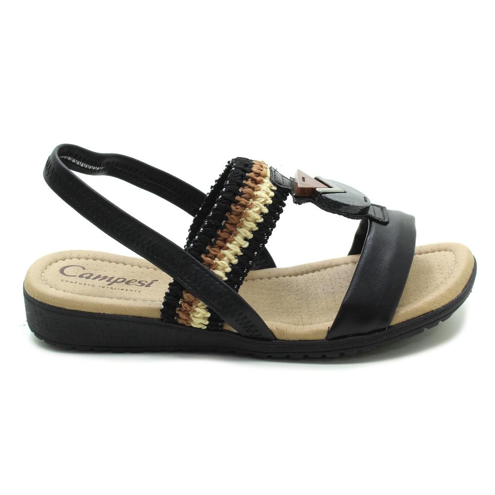 Sandália Flatform Conforto Campesí L8042