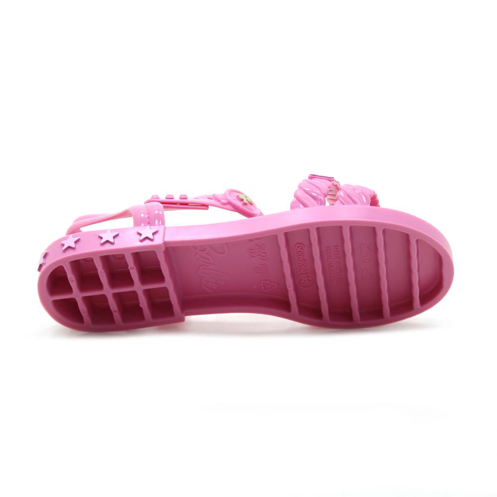 Sandália Infantil Grendene Barbie Candy Bag Rosa 22492