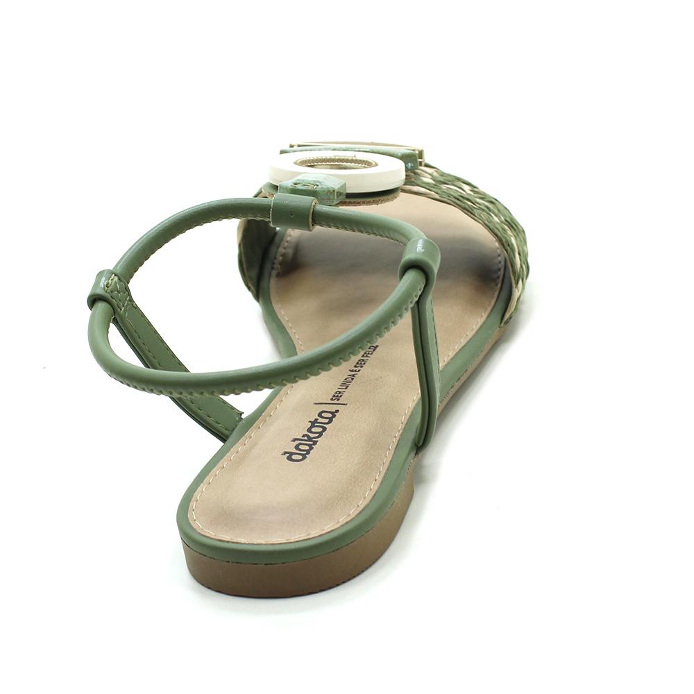 Sandália Rasteira Dakota Z8181