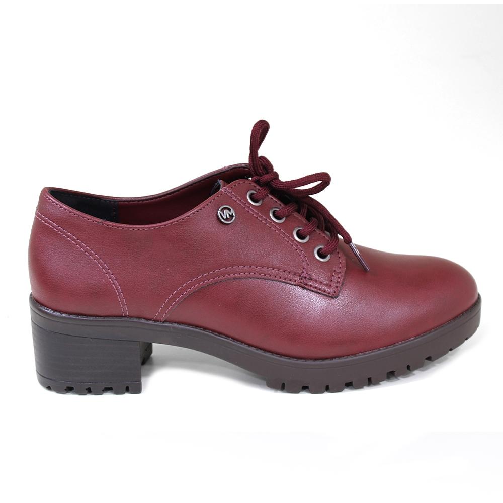 Sapato Feminino Oxford Via Marte Salto Médio 208006