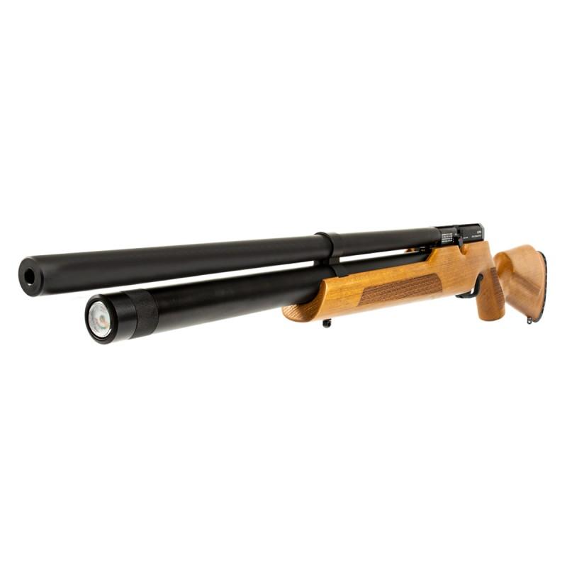 Carabina Nova Vista PCP Alpha Calibre 6.35 coronha madeira