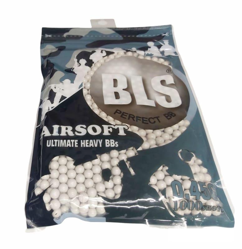 Munição Airsoft bbs BLS 0,45g 1000 unidades