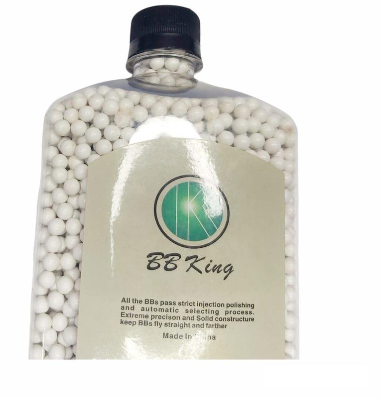 Munição airsoft Botella 5000 unidades bbking 0,25g