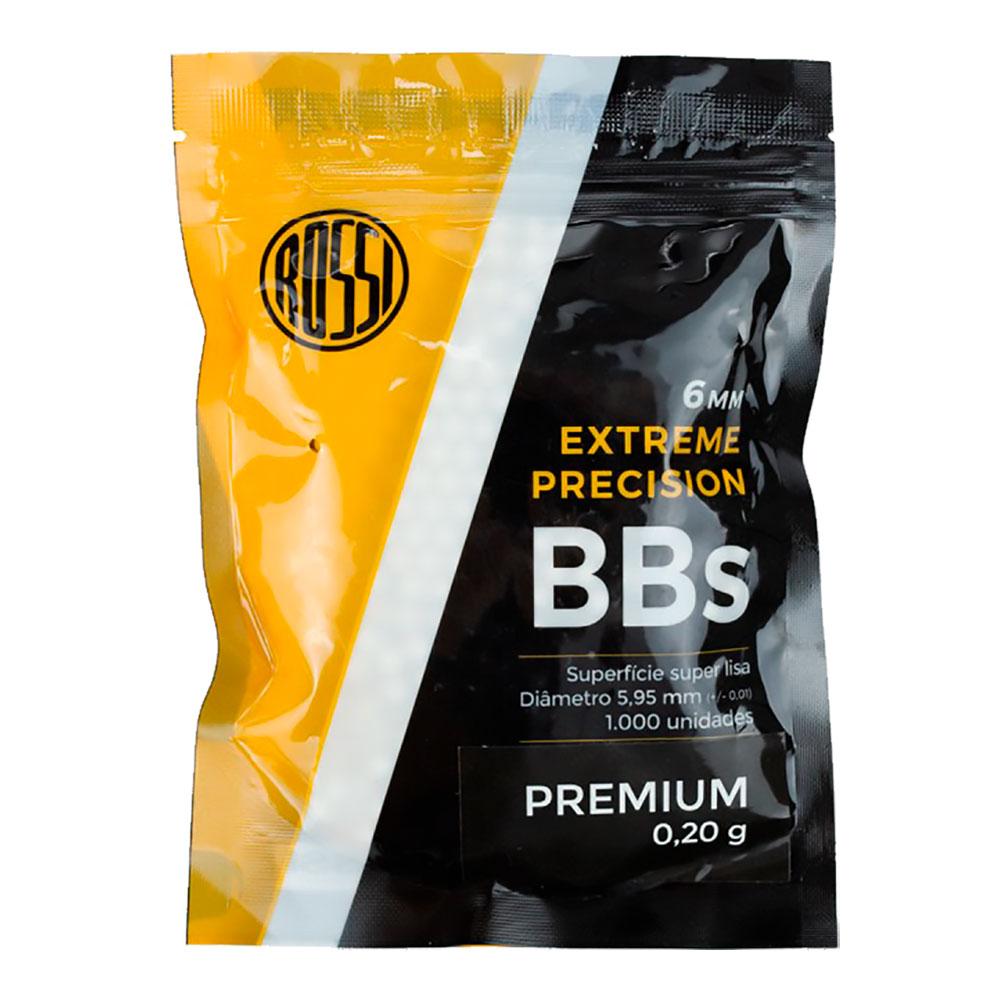 BBs Para Airsoft Premium 0.20g 1000un. - ROSSI