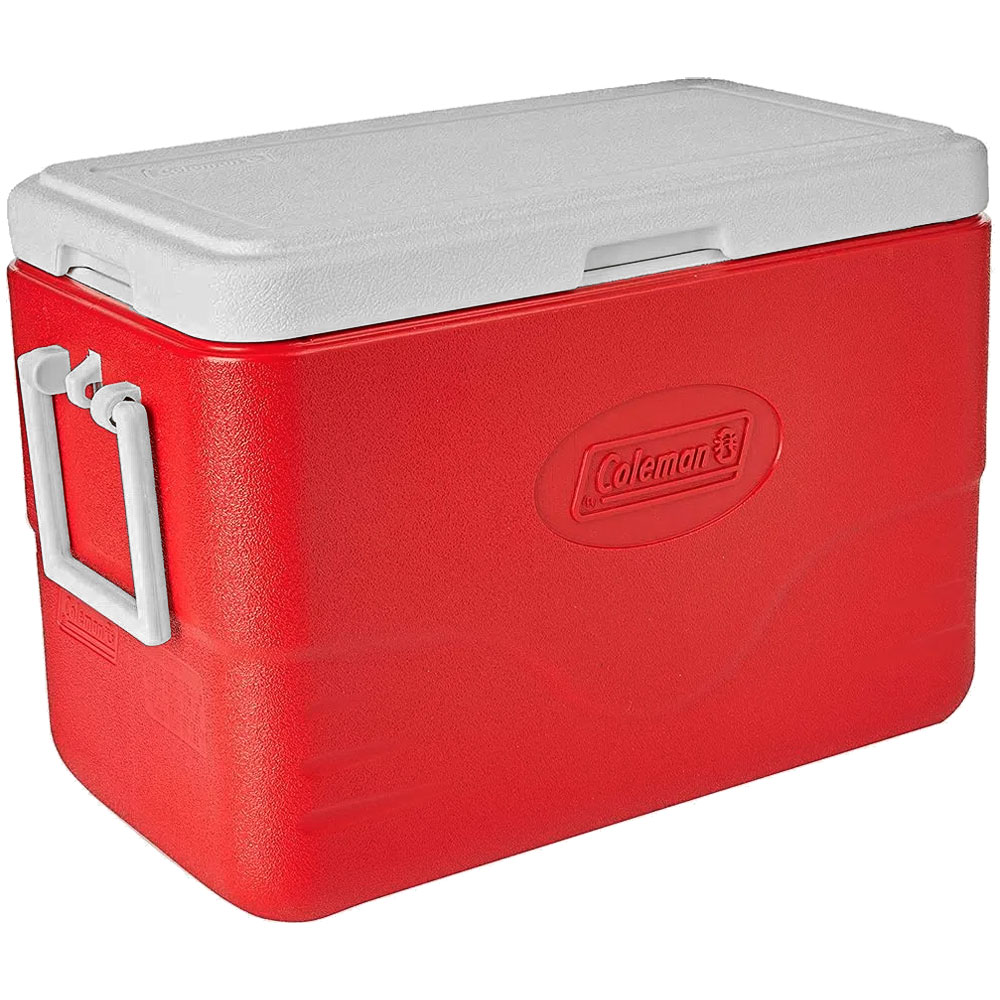 Caixa Térmica Cooler  26,5 Litros (28QT) Vermelho - COLEMAN