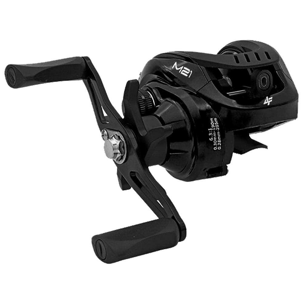 Carretilha M21 Black 4 Rolamentos Drag 5kg Direita - ALBATROZ FISHING
