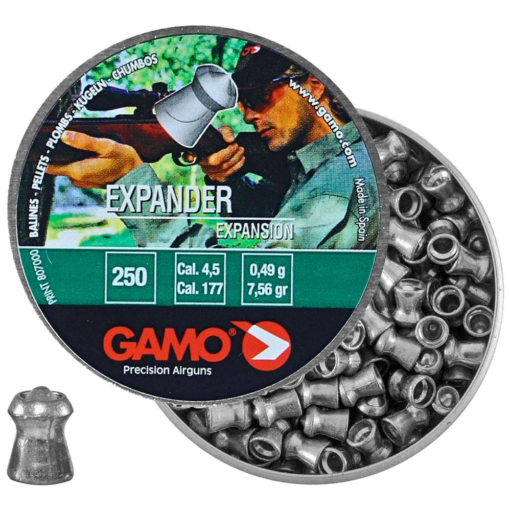 Chumbinho Expander Expansion 4.5mm 250un. - GAMO