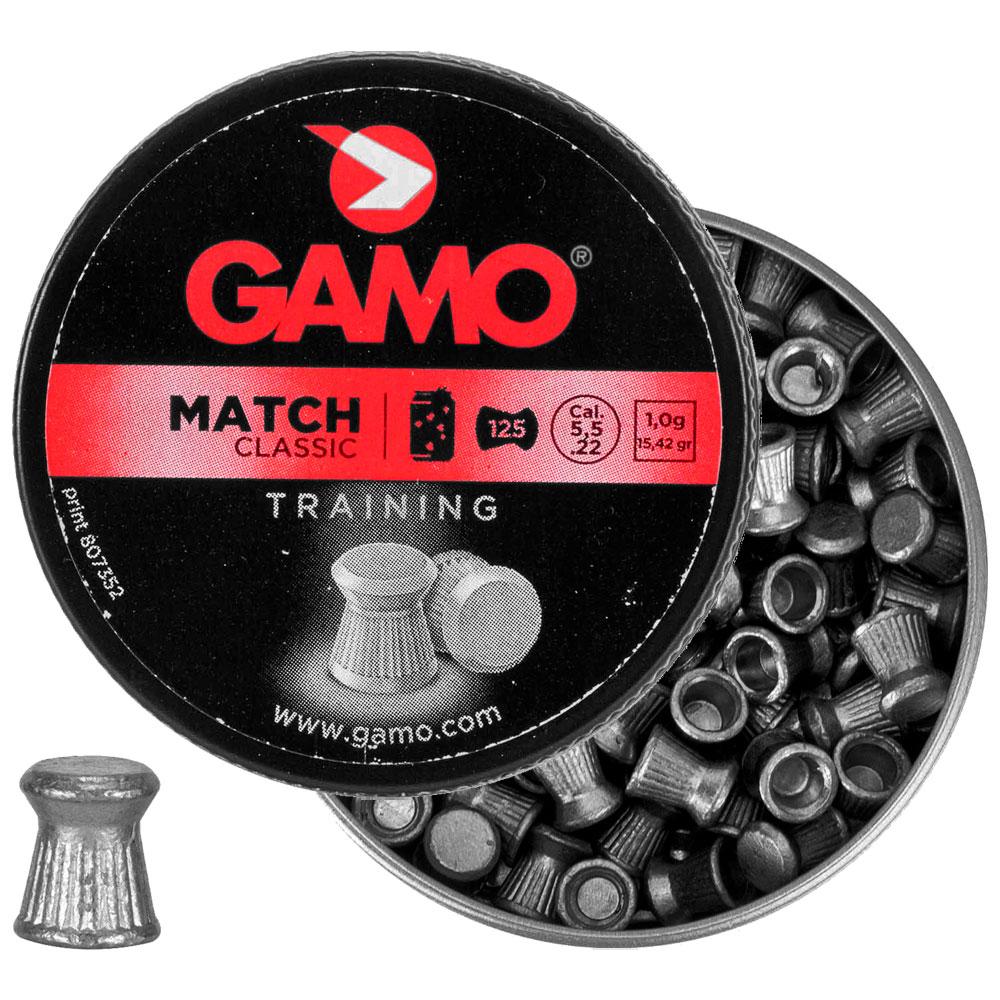 Chumbinho Match Diabolo 5.5mm 125un. - GAMO