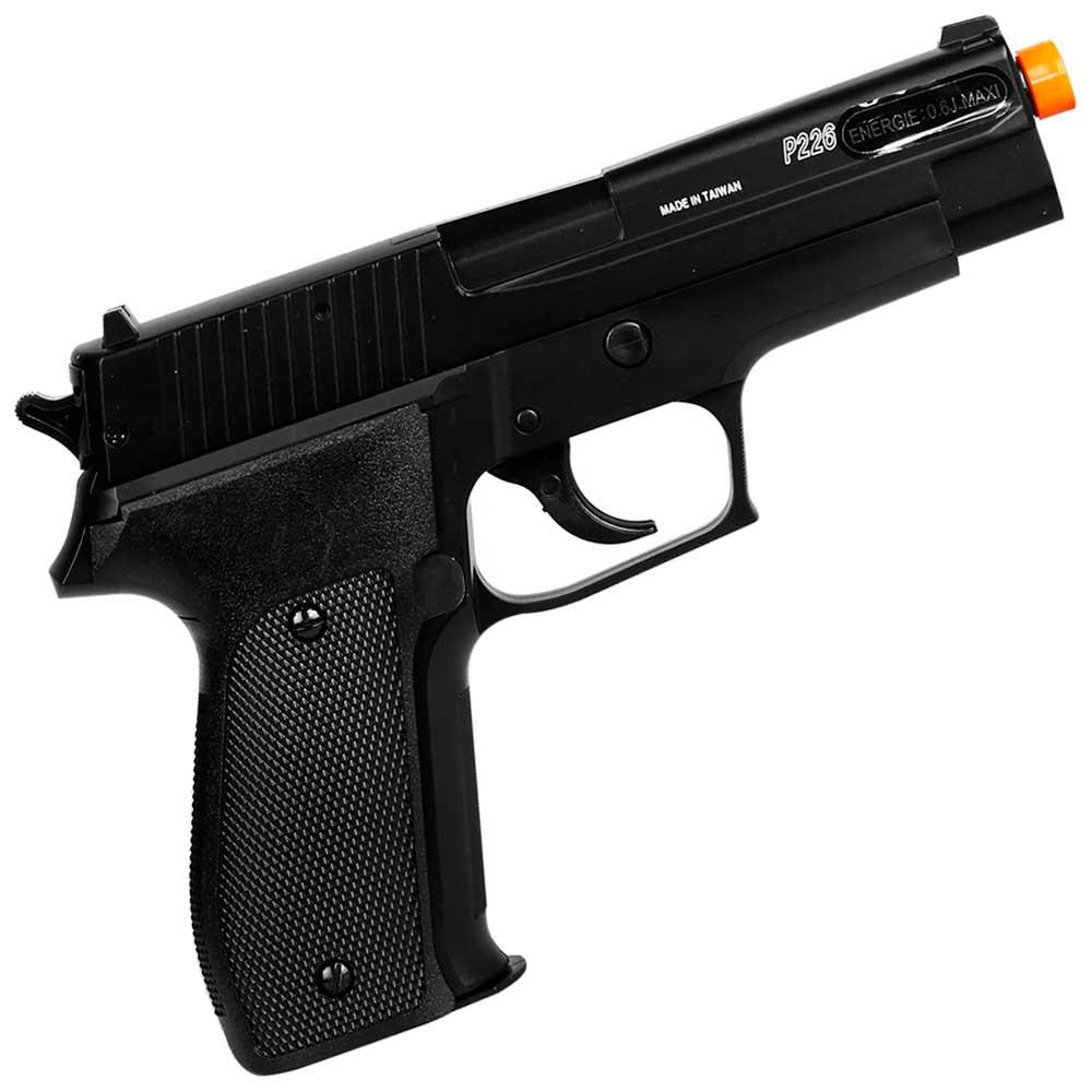 Pistola Airsoft P226 Spring Slide Metal 6mm - SIG SAUER