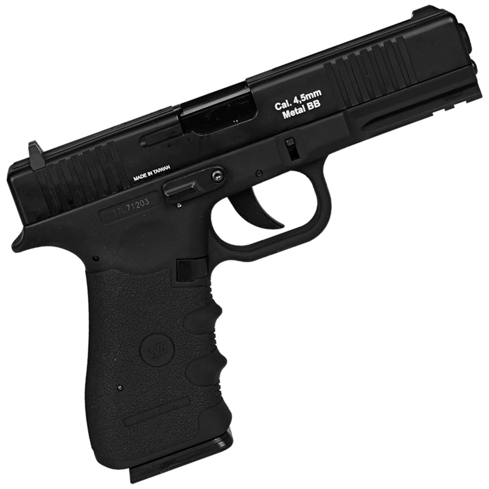 Pistola de Pressão CO2 W119 Blowback Slide Metal 4.5mm - WIN GUN