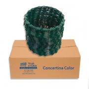 Concertina Clipada 45cm Verde - 8m