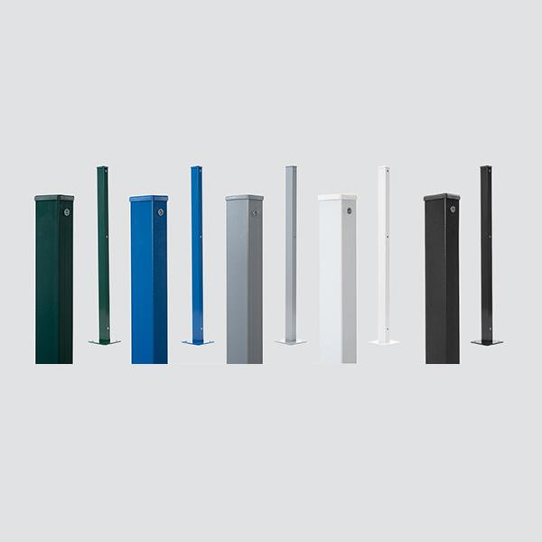 Kit Poste de Gradil - Aparafusar (Poste + Fixador com Parafuso)