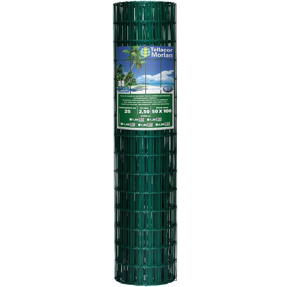 Meganet Verde - Malha 5cmx10cm - Rolo 25,00 metros