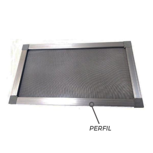 Perfil Mosquiteiro Alumínio Branco - 3M
