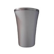 Cuia Copo de Tereré de Alumínio Branco - 200 ML