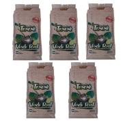 Kit 5 Erva para Tereré sabor Limão y Menta 500 gramas - Verde Real