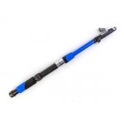 Vara de Pesca Telescópica para Molinete 1,7m 20Lb Fibra de Vidro Azul - CMIK